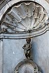 Belgium, Province Brabant, Brussels: Manneken Pis | Belgien, Provinz Brabant, Bruessel: Wahrzeichen Manneken Pis (auch Petit Julien genannt)