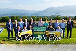 Kerry legends launching the Kerry GAA Win A House in Killarney draw in Aghadoe on Monday were front row l-r: Oige Moran, Tomas O'Sé, Colm Cooper, Aidan O'Mahony Seamus Moynihan. Back row: Dara O'Sé, Donal Daly, Sean Walsh, Eoin Liston, Joe Wallace, Tim Murphy, Barry John Keane, Mick Larkin, Patrick O'Sullivan, John O'LEary and Eoin Brosnan