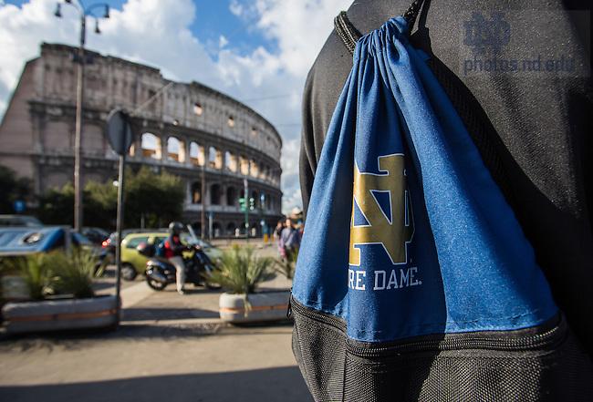 Jan. 26, 2014; Rome. <br /> <br /> Photo by Matt Cashore/University of Notre Dame