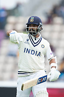 Ajinkya Rahane, India rues his shot perhaps and his dismissal for 49 during India vs New Zealand, ICC World Test Championship Final Cricket at The Hampshire Bowl on 20th June 2021