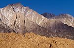 Eastern Sierra lone pine peak, Alabama Hills, California
