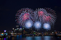Pittsburgh Fireworks 4th of July 2009