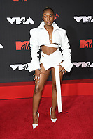 NEW YORK, NY- SEPTEMBER 12: Normani at the 2021 MTV Video Music Awards at Barclays Center on September 12, 2021 in Brooklyn,  New York City. <br /> CAP/MPI/JP<br /> ©JP/MPI/Capital Pictures