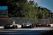 #55: Alex Palou,  Dale Coyne Racing with Team Goh Honda, #28: Ryan Hunter-Reay, Andretti Autosport Honda, #12: Will Power, Team Penske Chevrolet, #9: Scott Dixon, Chip Ganassi Racing Honda, #18: Santino Ferrucci, Dale Coyne Racing with Vasser Sullivan Honda, #1: Josef Newgarden, Team Penske Chevrolet