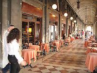 Promenade around Piazza San Marco, Venice