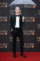 John McCrea<br /> arriving for the Olivier Awards 2018 at the Royal Albert Hall, London<br /> <br /> ©Ash Knotek  D3392  08/04/2018