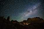 Milky Way over Alabama Hills, Owens Valley, California