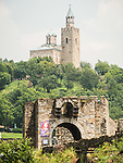 Patriarchate church on top of the hill of the fortress of Tsarevts, Veliko Tarnovo, Bulgaria