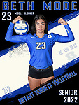 Bryant Volleyball SR 2022 Banners