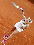 Dominika Cibulkova, Slovakia, during Madrid Open Tennis 2016 Final match.May, 7, 2016.(ALTERPHOTOS/Acero)