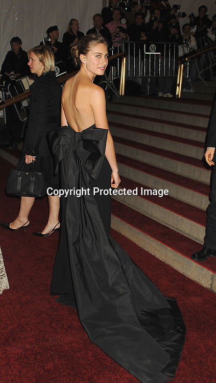 Lauren Bush..arriving at The Metropolitan Museum of Art's Costume Institute Gala on May 7, 2007 in New York City. The Gala celebrates the exhibition: Poiret: King of Fashion..Robin Platzer, Twin Images......212-935-0770