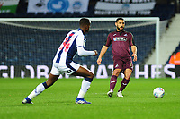 Cameron Carter-Vickers of Swansea City in action during the Sky Bet Championship match between West Bromwich Albion and Swansea City at The Hawthorns in Birmingham, England, UK. Wednesday 13 March 2019