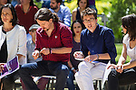 Pablo Iglesias, Inigo Errejon,  Irene Montero, and Carolina Bescansa during the presentation of the electioneering of Unidos Podemos. Jun 2,2016. (ALTERPHOTOS/Rodrigo Jimenez)