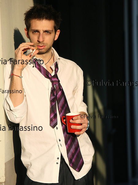 Milano 19/03/2009.Alessandro Bongiorni © Fulvia Farassino