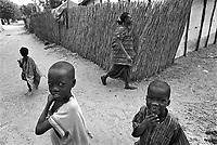 - Senegal, in the Mbour Village....- Senegal, nel villaggio di Mbour