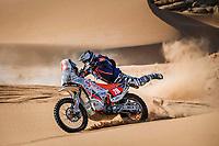 4th January 2021; Dakar Rally stage 2;  #78 Zacchetti Cesare (ita), KTM, Cesare Zacchetti, Original by Motul, Moto, Bike, action during the 2nd stage of the Dakar 2021 between Bisha and Wadi Al Dawasir, in Saudi Arabia on January 4, 2021