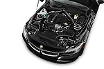 Car Stock 2016 BMW Z4 sDrive28i 2 Door Convertible Engine  high angle detail view