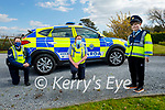 Little Blue Hero, Sean Kearney from Ardfert will be celebrating his 10th birthday on May 5th and members of An Garda Siochana in Tralee are seeking your help, so that Sean can celebrate his special day by sending him a birthday card, which can be sent to Sean c/o Tralee Garda Station. Front right: Sean Kearney. Back l to r: Sgt Eileen O'Sullivan and Gda Niamh O'Brien.