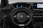 Car pictures of steering wheel view of a 2020 Peugeot e-2008 GT 5 Door SUV Steering Wheel