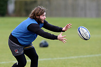 16th February 2021;  John Andrew during an Ulster Rugby squad pitch session held at Pirrie Park, Belfast, Northern Ireland. Photo by John Dickson/Dicksondigital