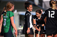 Hawkes Bay v South Canterbury. 2021 National Women's Under-18 Hockey Tournament day two at National Hockey Stadium in Wellington, New Zealand on Monday, 12 July 2021. Photo: Dave Lintott / lintottphoto.co.nz https://bwmedia.photoshelter.com/gallery-collection/Under-18-Hockey-Nationals-2021/C0000T49v1kln8qk