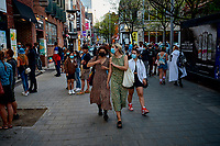 Le quartier chinois de Montréal, Mai 2021<br /> <br /> Montreal chinatown, May 2021<br /> <br /> PHOTO :  Pierre Tran - Agence Quebec Presse