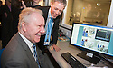 Scottish Health Secretary Alex Neil (left) gets a tour of new Scottish Clinical Simulation Centre with Dr Michael Moneypenny. Based at Forth Valley Royal Hospital, the centre allows NHS staff and students from across the country to improve their skills by practicing on life-like hi-tech mannequins in simulated operating theatres.