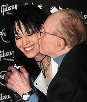 Joan Jett & Les Paul 5-31-08 Photo By John Barrett/PHOTOlink
