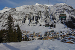 Bergbahnen Oberlech Chairlift at Lech Ski Area, St Anton, Austria