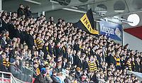 ULSTER SCHOOLS CUP SEMI-FINAL | Monday 29th February 2016<br /> <br /> <br /> RBAI Supporters. Ulster Schools Cup semi-final between RBAI and Ballymena Academy at Kingspan Stadium, Ravenhill Park, Belfast. Photo credit: John Dickson / DICKSONDIGITAL