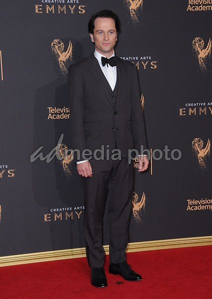 10 September  2017 - Los Angeles, California - Matthew Rhys. 2017 Creative Arts Emmys - Arrivals held at Microsoft Theatre L.A. Live in Los Angeles. Photo Credit: Birdie Thompson/AdMedia