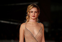 "L'attrice Grace Van Patten posa sul red carpet per la presentazione del film ""Tramps"" al Festival Internazionale del Film di Roma, 16 ottobre 2016.<br /> Actress Grace Van Patten poses on the red carpet to present the movie ""Tramps"" during the international Rome Film Festival at Rome's Auditorium, .<br /> UPDATE IMAGES PRESS/Isabella Bonotto"