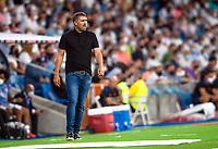 12th September 2021; Estadio Santiago Bernabeu, Madrid, Spain; La Liga, Real Madrid CF versus RC Celta de Vigo; Chacho Coudet Celta de Vigo manager during the match