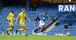 25.10.2020 Rangers v Livingston: Jermain Defoe steers in goal no 2 for Rangers