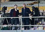 27.09.2020 Motherwell v Rangers:  James McFadden and Kris Boyd