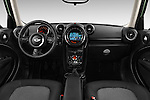 Stock photo of straight dashboard view of 2016 MINI Countryman One 5 Door Hatchback Dashboard