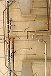 Plumbing in high rise building construction