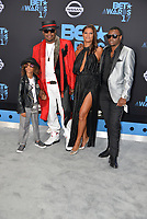 LOS ANGELES, CA June 25- Bobby Brown,wife Alicia Etheredge and sons Cassius Brown and Bobby Brown Jr. At 2017 BET Awards at The Microsoft Theater, California on June 25, 2017. Credit: Koi Sojer/Snap N' U Photos/MediaPunch