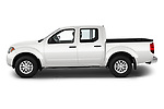 Car driver side profile view of a 2019 Nissan Frontier SV 4 Door Pick Up