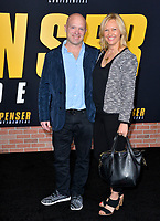 "LOS ANGELES, CA: 27, 2020: Sean O'Keefe & Guest at the world premiere of ""Spenser Confidential"" at the Regency Village Theatre.<br /> Picture: Paul Smith/Featureflash"
