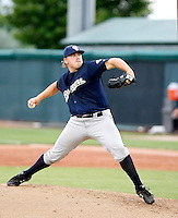 Stosh Wawrzasek - 2010 Helena Brewers - Playing against the Orem Owlz in Orem, UT - 07/26/2010.Photo by:  Bill Mitchell/Four Seam Images..