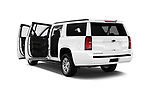 Car images close up view of 2016 Chevrolet Suburban 1500 LS 5 Door SUV doors