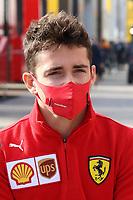 30th October 2020, Imola, Italy; FIA Formula 1 Grand Prix Emilia Romagna, inspection day;  16 Charles Leclerc MCO, Scuderia Ferrari Mission Winnow