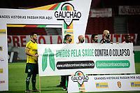PORTO ALEGRE, (RS), 21.02.2021 - INTERNACIONAL – YPIRANGA –  O árbitro Jean Pierre Lima, na partida entre Internacional e Ypiranga, pela 4ª rodada do Campeonato Gaúcho 2021, no estádio Beira Rio, em Porto Alegre, neste domingo (14).