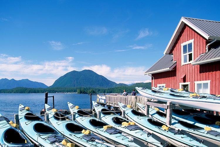 Tofino, Vancouver Island, BC, British Columbia, Canada - Ocean Kayaks for Rent, Summer