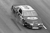 Bobby Labonte NASCAR Busch Series action  at Darlington Raceway in Darlington, SC on September 2, 1989. (Photo by Brian Cleary/www.bcpix.com)