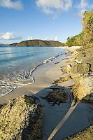 Cinnamon Bay.Virgin Islands National Park.St. John, U.S. Virgin Islands