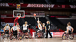 Arinn Young, Tokyo 2020 - Wheelchair Basketball // Basketball en fauteuil roulant.<br /> Canada takes on Germany in a women's preliminary game // Le Canada affronte le Japon dans un match préliminaire masculin. 28/08/2021.
