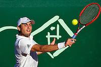 Netherlands, The Hague, Juli 21, 2015, Tennis,  Sport1 Open, Aslan Karatsev (RUS)<br /> Photo: Tennisimages/Henk Koster