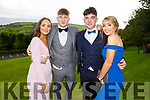 Shelly Clifford (Fossa), Sean Courtney (Muckross Rd), Kealan Deegan (Pinewood) and Anna Clifford (Fossa) at the Killarney Community College, St. Brendan's and St. Bridget's School debs in the Ballyroe Heights hotel on Monday night.